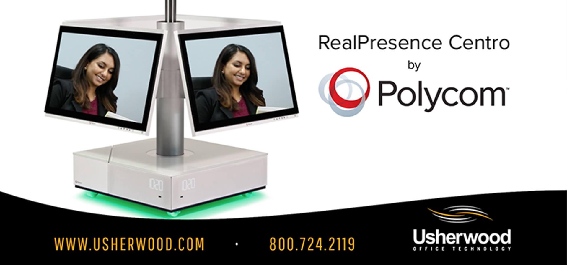 Usherwood Office Technology RealPresence Centro by Polycom Video