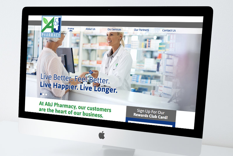 Brand Development Services with A&J Pharmacy