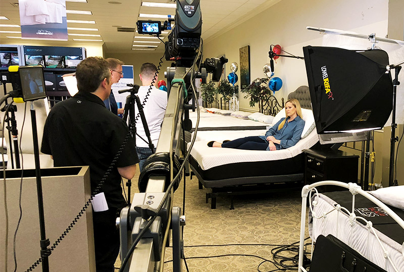 Video Production Services with Metro Mattress