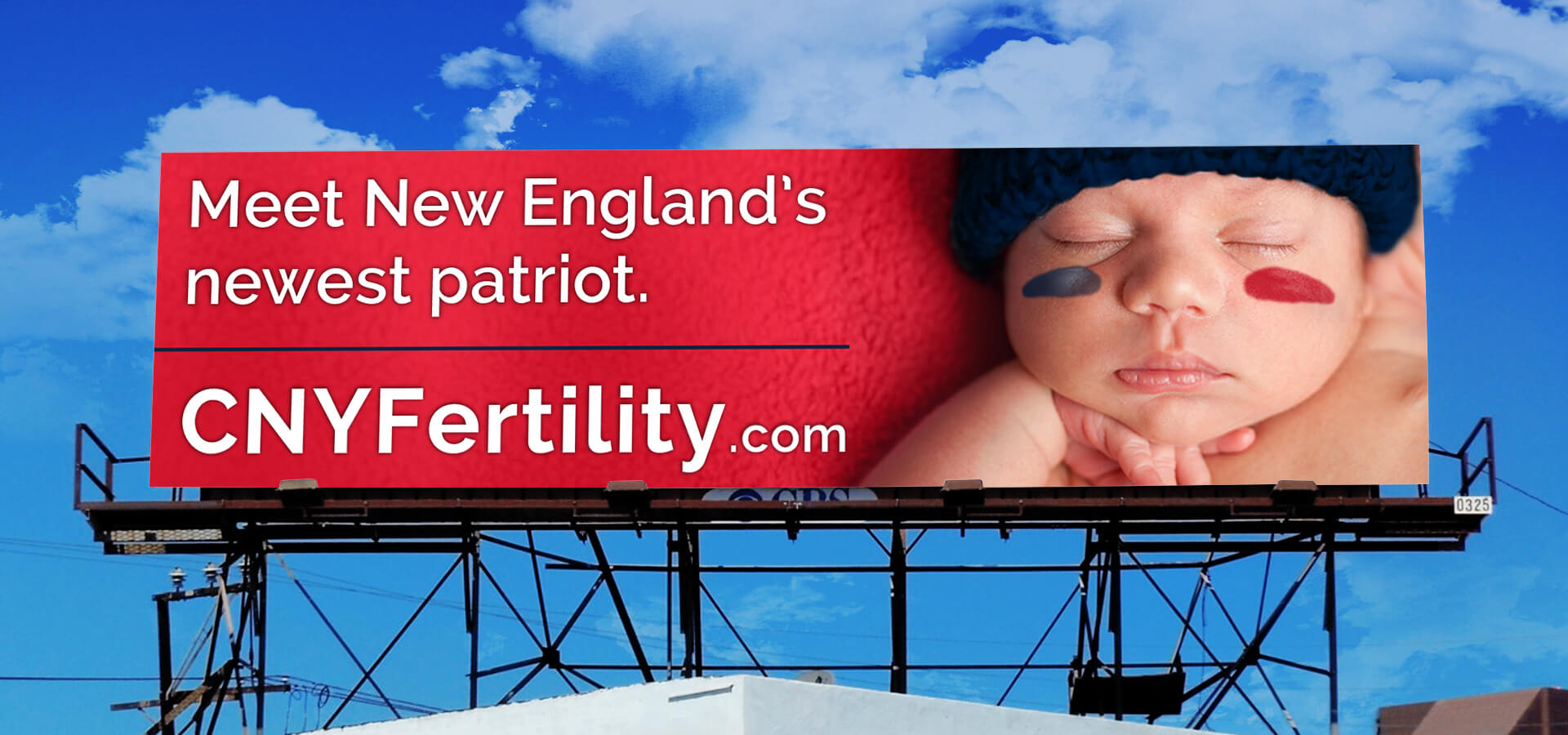 CNY Fertility Billboard in Boston, MA