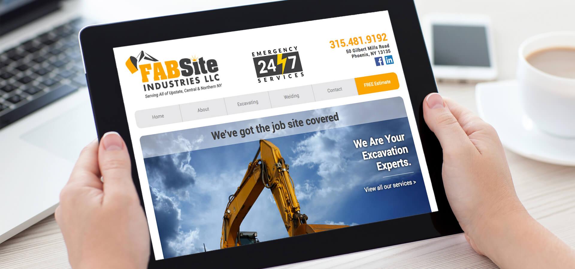 FABSite New Website Design