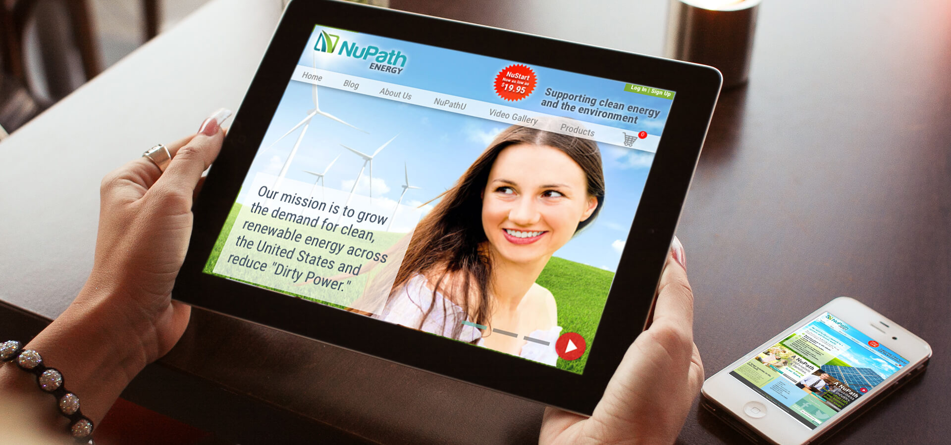 NuPath Energy's New Website and Brand Development