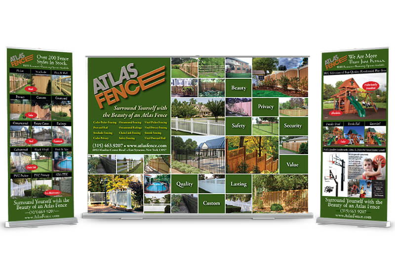 Atlas Fence Trade Show Display